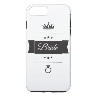 Retro Bride typography design iPhone 7 Plus Case