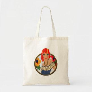 Retro Bridge Tally Redhead Tote Bag
