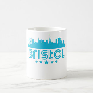 Retro Bristol Skyline Coffee Mug