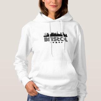 Retro Bristol Skyline Hoodie