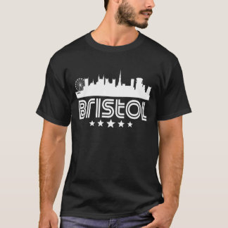 Retro Bristol Skyline T-Shirt