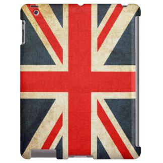 Retro British Union Jack Flag iPad Case