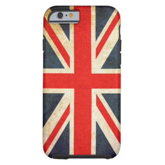 Retro British Union Jack Flag Tough iPhone 6 Case