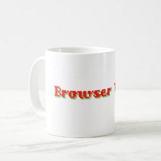 Retro Browser Wars Logo Mug