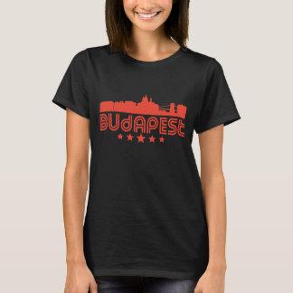 Retro Budapest Skyline T-Shirt