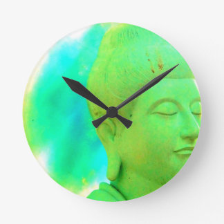 RETRO BUDDHA Clock