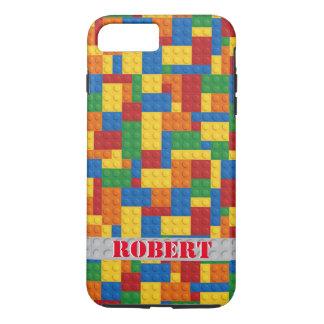 retro building block customizable iPhone 7 case