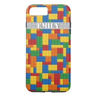 retro building blocks customizable iPhone 7 case