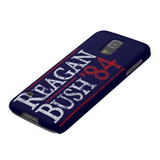 Retro Bush Reagan 84 Election Galaxy S5 Case