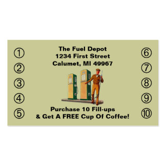 Gas Station Business Cards 66 Business Card Templates