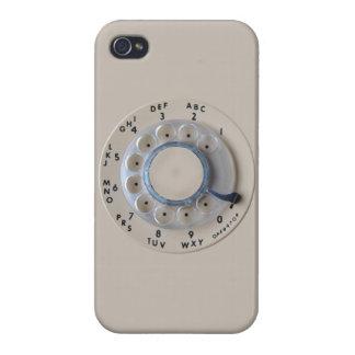 Rétro cadran rotatoire de téléphone coque iPhone 4 et 4S