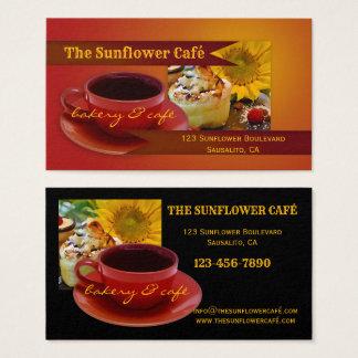 Retro Café and Bakery Business Card