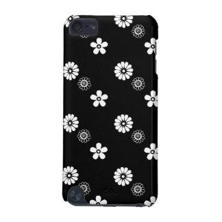 Rétro caisse blanche et noire de contact d'iPod de Coque iPod Touch 5G