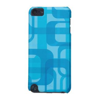 Rétro caisse bleue de motif coque iPod touch 5G