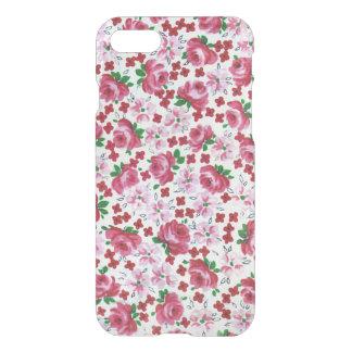 Rétro caisse rose de déflecteur de Clearly™ de Coque iPhone 7