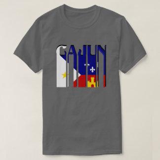 Retro Cajun Acadiana Flag Louisiana Tee Shirt
