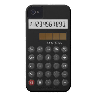 Retro Calculator iPhone 4 Covers