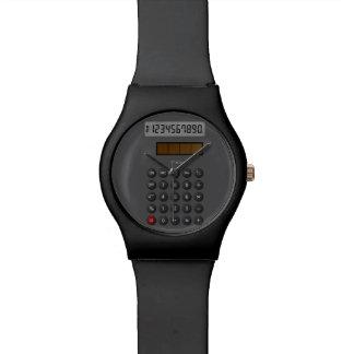 Retro Calculator Watch