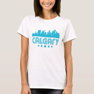 Retro Calgary Skyline T-Shirt