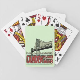 Retro Camden Pilsner Beer Deck of Cards