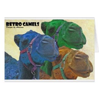 retro camels card