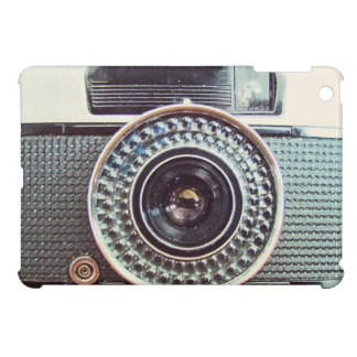 Retro camera cover for the iPad mini