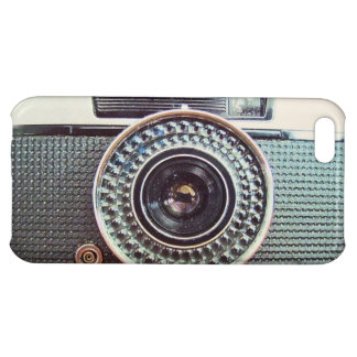 Retro camera iPhone 5C covers