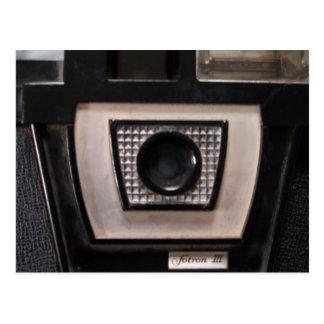 Retro camera post card