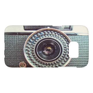 Retro camera samsung galaxy s7 case