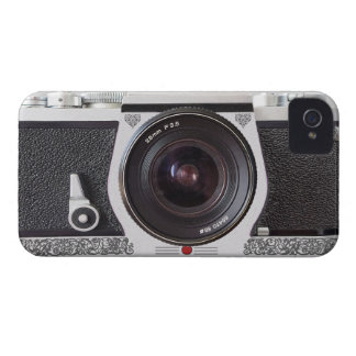 Retro Camera Scroll FX iPhone 4/4S Barely There iPhone 4 Case-Mate Case