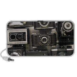 Retro Cameras Laptop Speaker