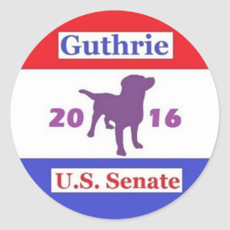 Retro Campaign Logo Sticker Sheet