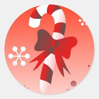 Retro Candy Classic Round Sticker