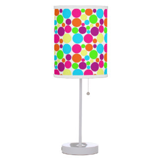 Retro Candy Color  Polka Dot Pattern Lamp