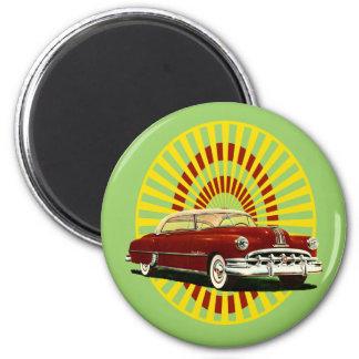 Retro Car Magnet