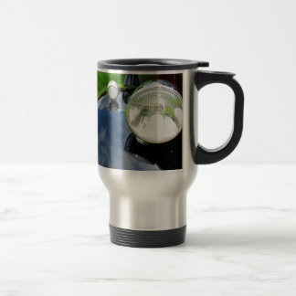 Retro car travel mug