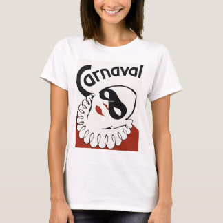 Retro Carnaval carnival clown T-Shirt
