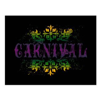 Retro Carnival Postcard