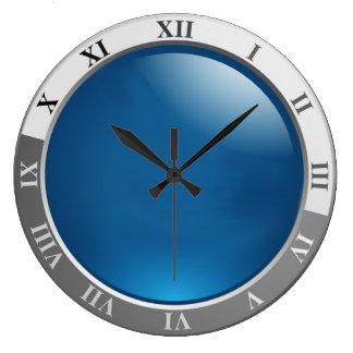 rétro carré d'horloge de montre grande horloge ronde