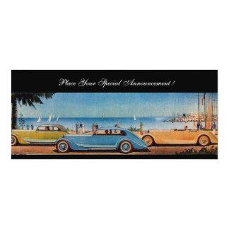 RETRO CARS CARD