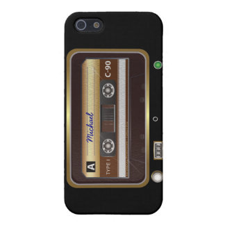 Rétro cas de l'iPhone 5 de baladeur Coques iPhone 5