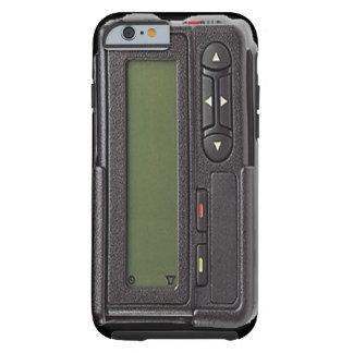 Rétro cas de l'iPhone 6 de bipeur Coque Tough iPhone 6