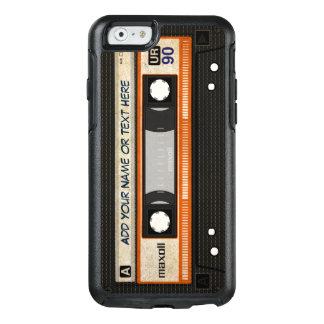 Rétro cassette audio de l'old-fashioned 80s coque OtterBox iPhone 6/6s