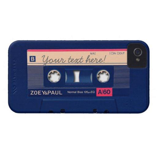 Retro Cassette Blackberry Cases