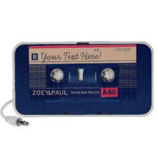 Retro Cassette Travel Speakers