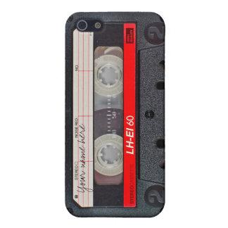 Retro cassette tape case iPhone 5/5S cases