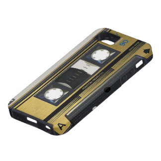Retro Cassette Tape iPhone 5 Cover Skin 80's Throw