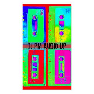 Retro Cassette Tape Throw Back DJ Record Business Card
