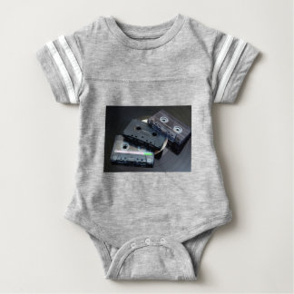 Retro Cassette Tapes Baby Bodysuit