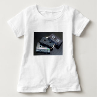 Retro Cassette Tapes Baby Romper